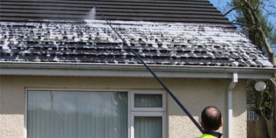 Softbrush Roof Cleaning