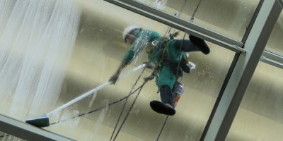 enviroclean window washing